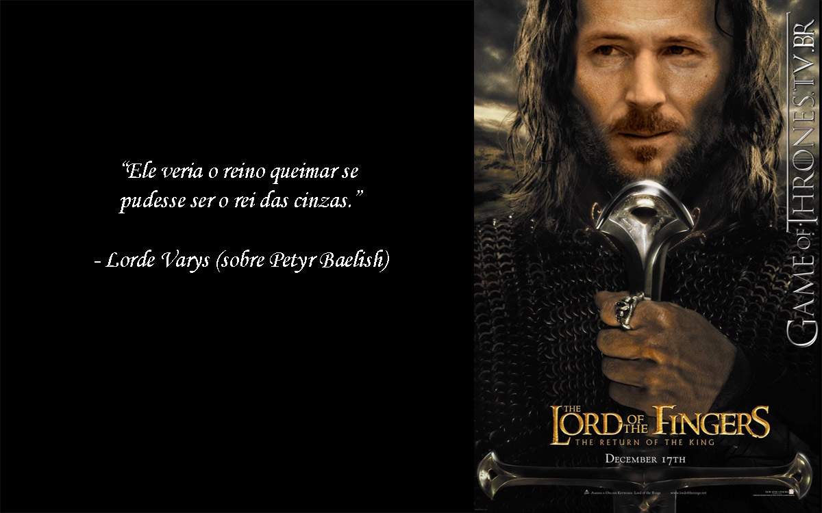 Petyr Baelish, the Lord of the Fingers
