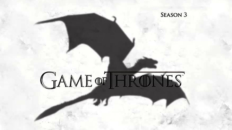 Game of Thrones terceira temporada
