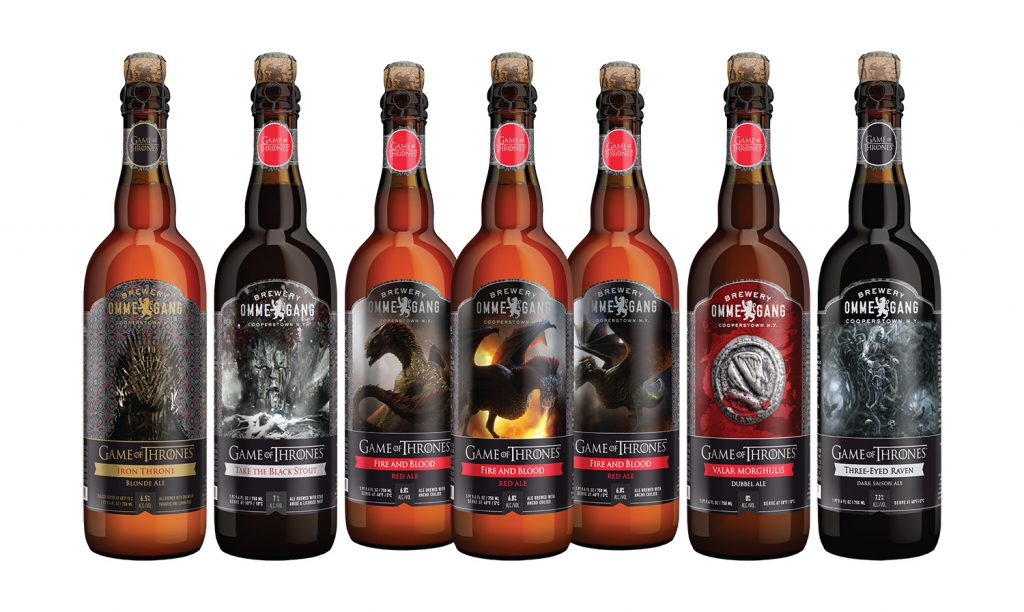 Cervejas Game of Thrones da Ommegang