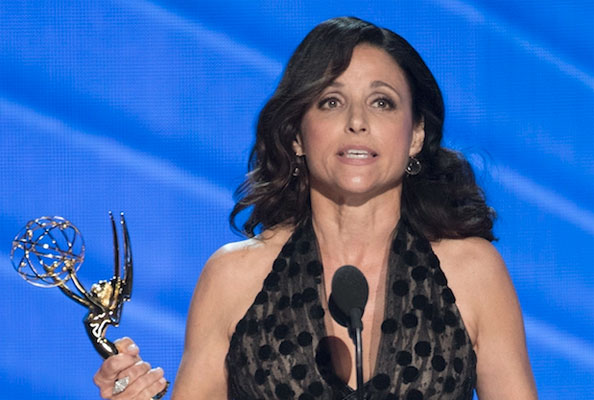 Julia Louis-Dreyfus no Emmy 2016