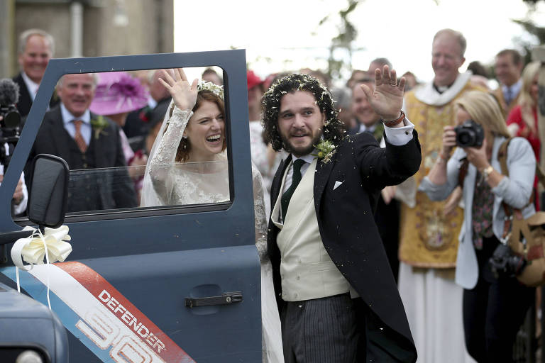Casamento de Kit Harington e Rose Leslie
